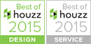 Best of Houzz in Design and Service in 2015