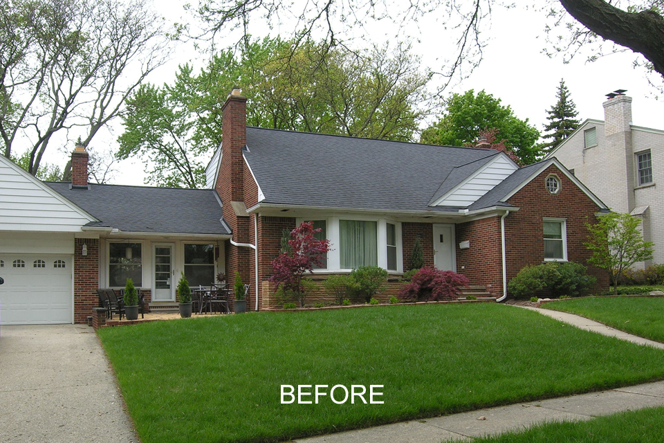 Beautiful Exterior Home Makeover In Arden Place Royal Oak, MI