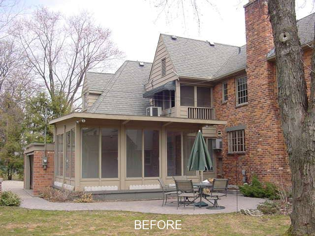 Birmingham Mi Two Story Rear Addition Mainstreet Design
