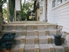 Oakdale Pleasant Ridge MI exterior remodel_construction of side stairs